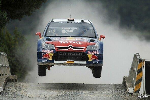 Auf Attacke gepolt: Sordo im Jahr 2010 bei der Neuseeland-Rallye