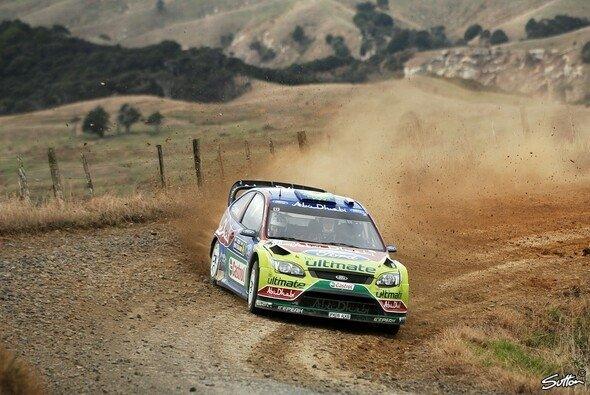 Jari-Matti Latvala sicherte sich seinen dritten WRC-Sieg. - Foto: Sutton