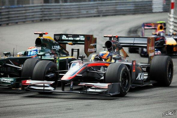 In Monaco geht es meistens eng zu