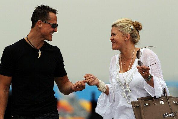 Durch dick und dünn unzertrennlich: Michael und Corinna Schumacher