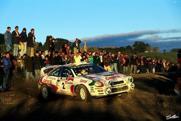 Toyota hat in der WRC eine lange Tradition