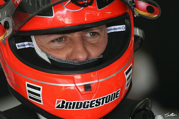 Michael Schumacher hat den Titel abgeschrieben