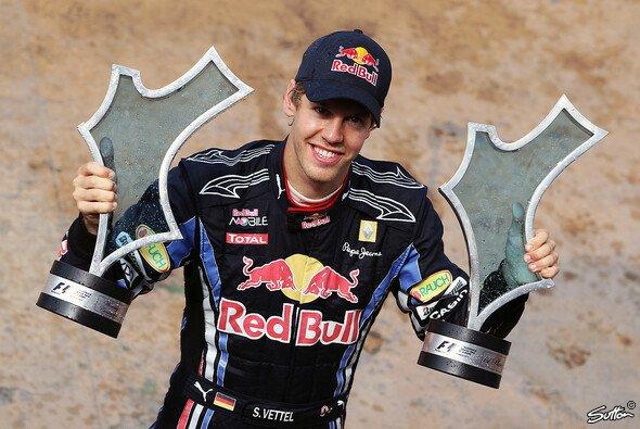 Sebastian Vettel war der König von Valencia - Foto: Sutton