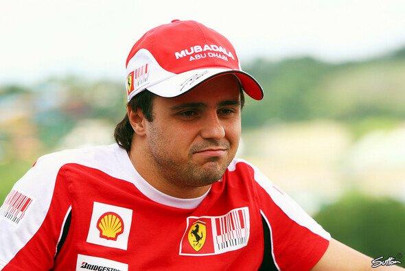 Felipe Massa hat den Stempel der Nummer-2 weg - Foto: Sutton