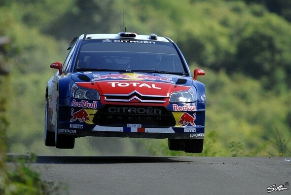 Sébastien Loeb verteidigte seine Führung und konnte es am Nachmittag schon etwas ruhiger angehen lassen. - Foto: Sutton