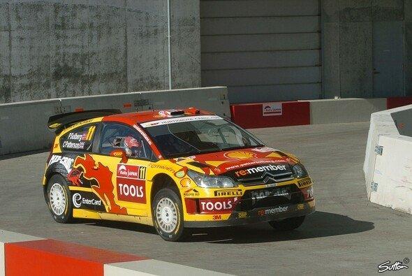 Petter Solberg zeigte eine starke Leistung und war mit deutlichem Abstand bester Citroen. - Foto: Sutton
