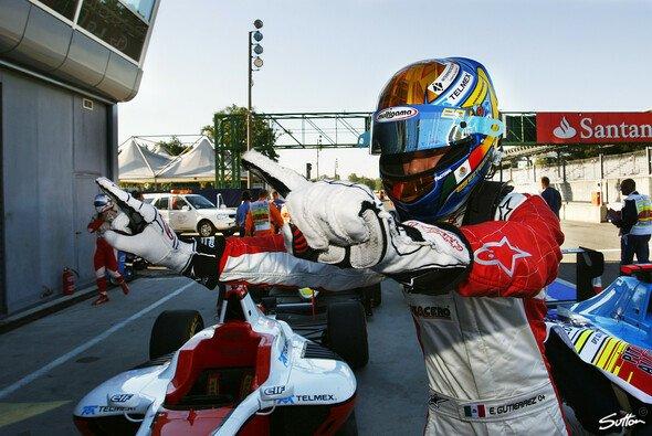 Esteban Gutierrez ist einer von drei GP3-Aufsteigern in der F1-Saison 2013