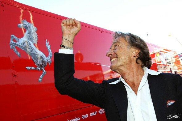 Jubelt Luca di Montezemolo hier bereits über den geplanten Ausbruch aus dem 'Gefängnis Formel 1'?