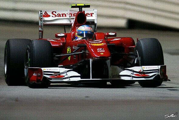Fernando Alonso fuhr auf die Pole Position - Foto: Sutton