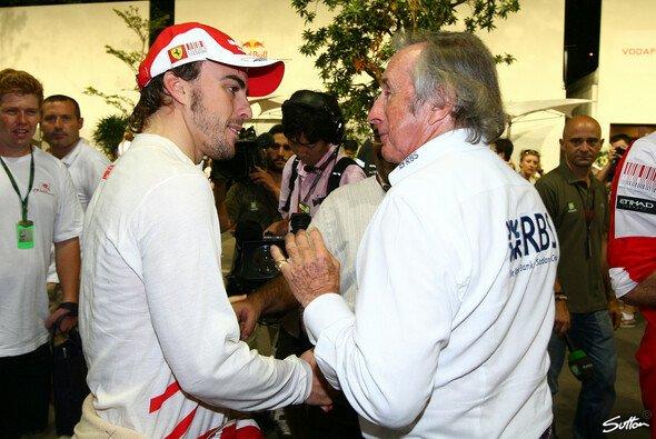 Jackie Stewart sorgt sich um Fernando Alonsos Zukunft - Foto: Sutton