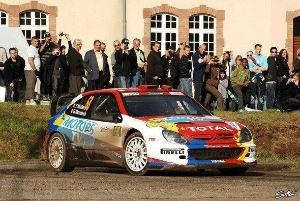 Muller hat schon 2010 einen Ausflug in die WRC unternommen
