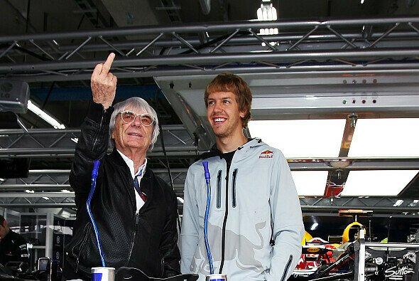 Zwei Menschen, unzählige verrückte Sprüche: Bernie Ecclestone und Sebastian Vettel
