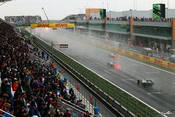 Korea bot voriges Jahr vor allem ein Regenspektakel - Foto: Sutton