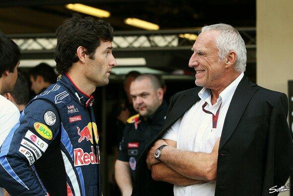 Anders als Webber & Marko können sich Webber & Mateschitz gut leiden