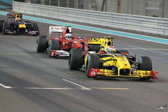 Im Vorjahr erwies sich Überholen in Abu Dhabi als schwierig