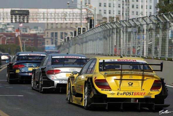 Die DTM war 2010 zu Gast in Shanghai - Foto: Sutton