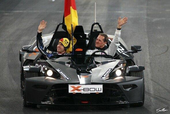 Sebastian Vettel liebäugelt mit einem Engagement im Motorsport anseits der F1 - Foto: Sutton