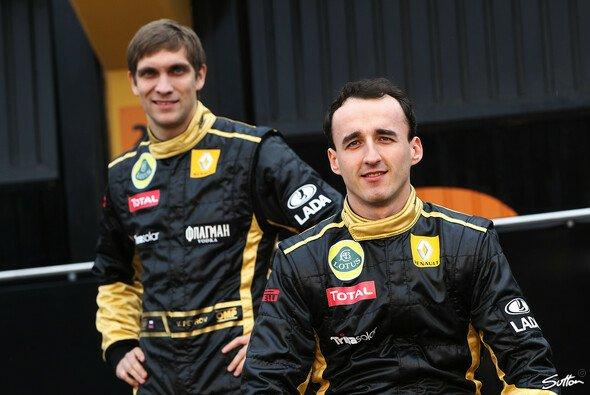 Aus der Formel 1 in die DTM: Die früheren Teamkollegen Vitaly Petrov und Robert Kubica - Foto: Sutton