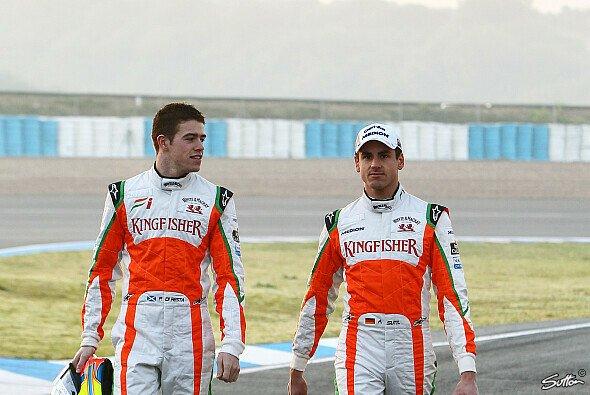 Noch ist Adrian Sutil die klare Nummer eins bei Force India - Foto: Sutton