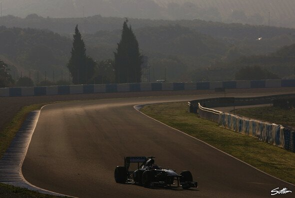 Rubens Barrichello sicherte sich um Abschluss der Tests in Jerez die Bestzeit - Foto: Sutton