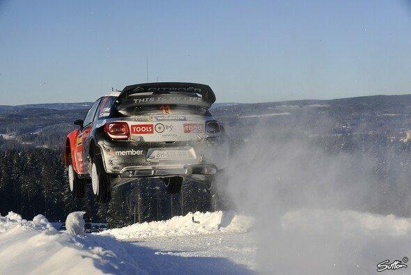 Petter Solberg war in Schweden nicht nur auf der Rallye-Strecke schnell...