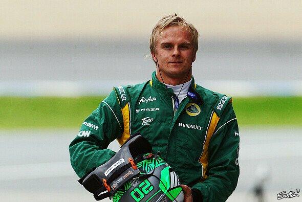 Heikki Kovalainen blickt optmistisch in die Zukunft - mit Lotus soll es weiter in die richtige Richtung gehen - Foto: Sutton