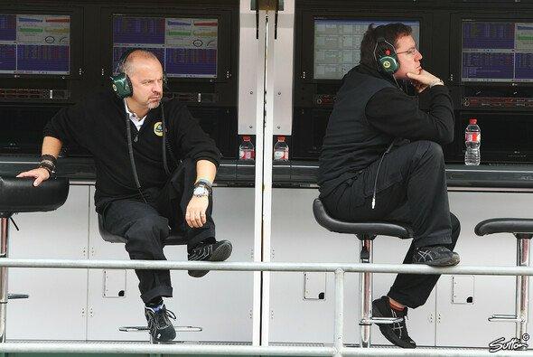 Nur noch selten bei der Formel 1 zu sehen: Mike Gascoyne