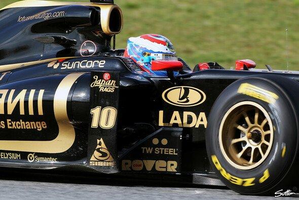 Petrov lernte viel über die Reifen - Foto: Sutton