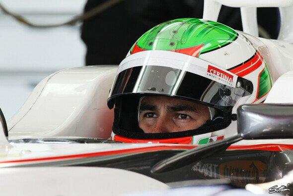Sergio Perez hat laut James Key noch einen langen Lernprozess vor sich, schlägt sich bisher aber gut - Foto: Sutton