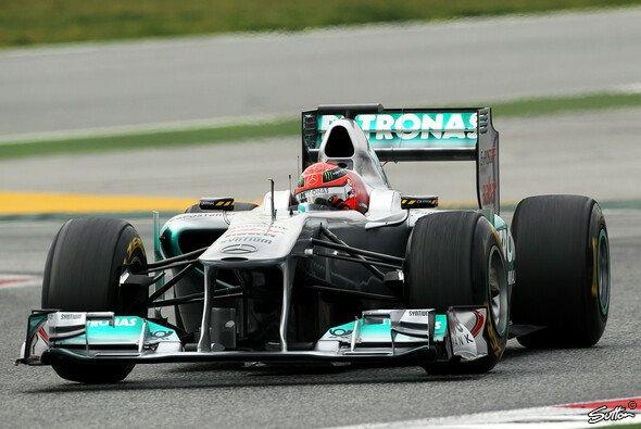 Mercedes hinterließ beim letzten Test in Barcelona einen guten Eindruck
