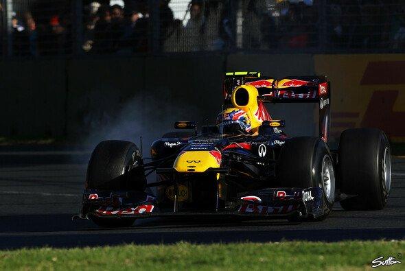 Mark Webber ließ die Konkurrenz stehen