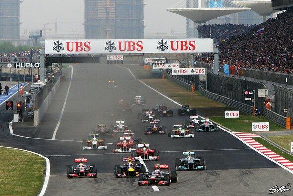 Die F1 reist zum dritten Rennen der Saison nach China