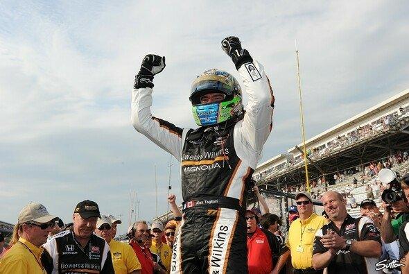 Pole in Indy: 2012 jubelt Alex Tagliani nicht mehr für Sam Schmidt sondern für Bryan Herta Autosport