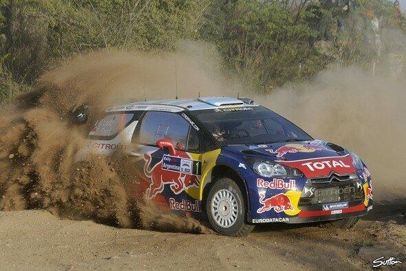 Sebastien Loeb konnte die erste Prüfung der Rallye Argentinien für sich entscheiden