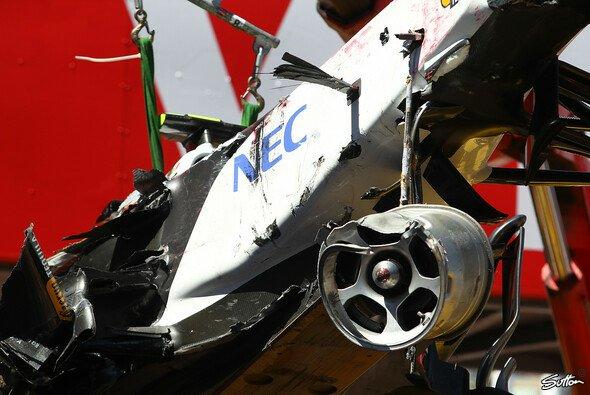 Monaco-Unfall hat Perez stärker gemacht - Foto: Sutton