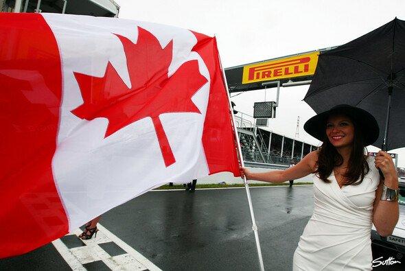 In Kanada wird nicht nur Rennsport vom Feinsten geboten...