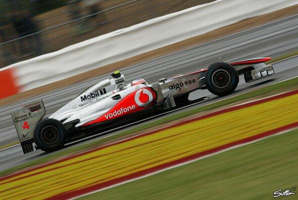 Oliver Rowland dufte für einige Runden im McLaren Platz nehmen