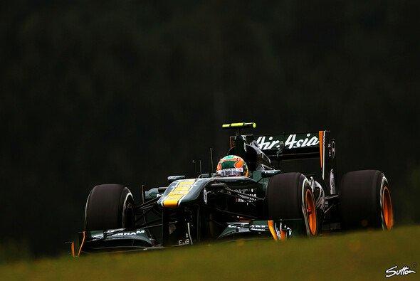 Karun Chandhok erlebte auf dem Nürburgring ein schwieriges Comeback für Lotus