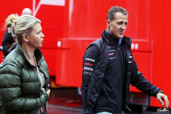 Corinna Schumacher wendet sich mit einer Bitte an die Medien in Grenoble