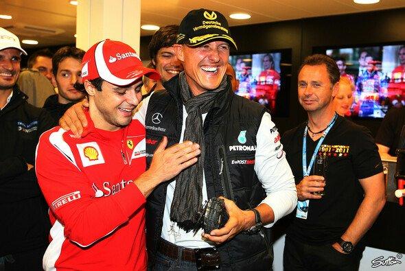 Felipe Massa denkt auch in Melbourne an seinen Freund Michael Schumacher