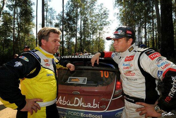 Henning und Petter Solberg treten nicht gegeneinander an