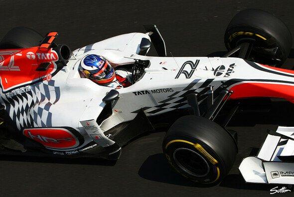 Daniel Ricciardo blieb bereits am Start stehen - nach einer langen Reparatur konnte der Australier in Monza immerhin noch ein paar Runden lang Erfahrung sammeln