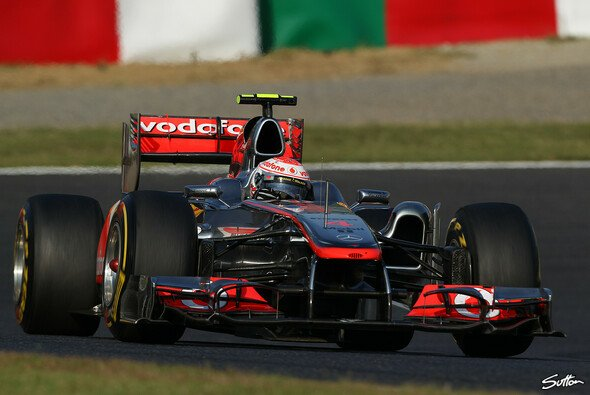9. Oktober 2011: Jenson Button siegt in Japan - Foto: Sutton