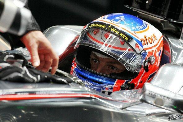 Jenson Button ließ das Feld hinter sich - Foto: Sutton