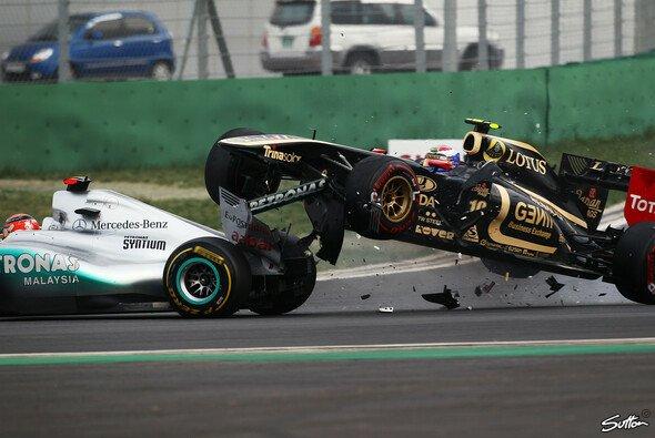 Auch in der Formel 1 gab es zuletzt einige gefährliche Auffahrunfälle
