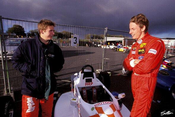 Jenson Button fuhr in der Formel Ford gegen Dan Wheldon