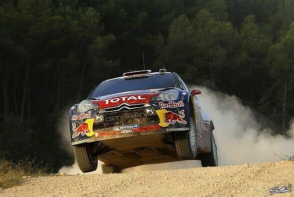 Sebastien Loeb konnte zum siebten Mal in Folge die Rallye Katalonien gewinnen - Foto: Sutton