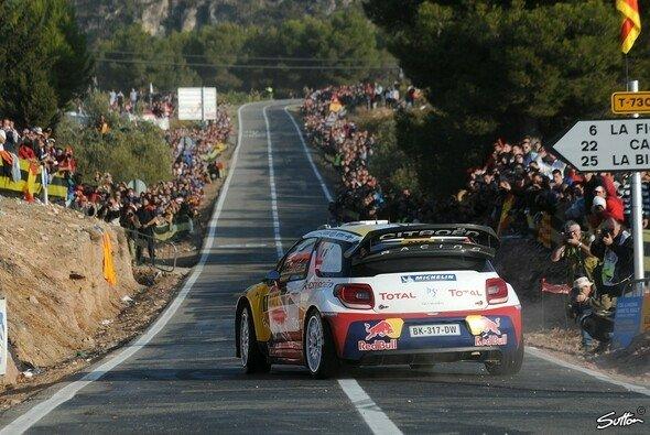 Sebastien Loeb konnte seinen Vorsprung ausbauen