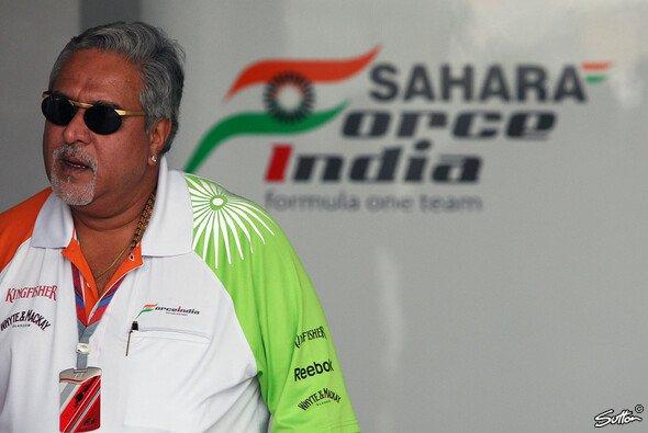 Vijay Mallyas Team fährt eine gute Saison