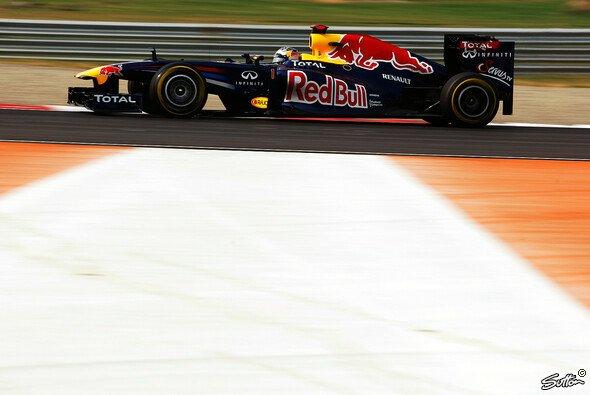 Sebastian Vettel fuhr allen davon - Foto: Sutton